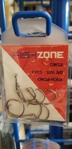 Circle hooks size 3/0 - super strong, super sharp